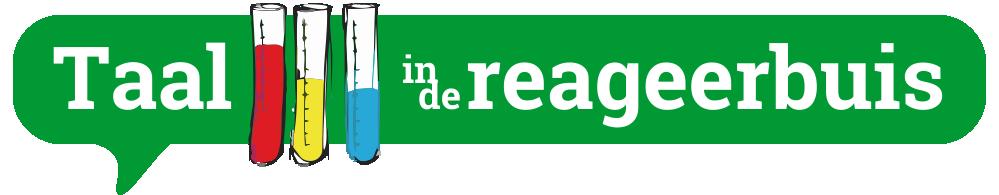 Logo Taal_in_de_Reageerbuis
